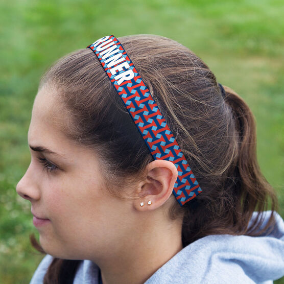 Running Juliband No-Slip Headband - RUNNER Geometric