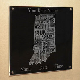 Indiana State Runner Wall Art