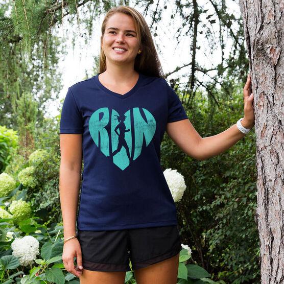 Women's Running Short Sleeve Tech Tee Love The Run