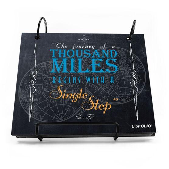 BibFOLIO® Race Bib Album - The Journey Of A Thousand Miles