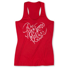 Women's Performance Tank Top - One Awesome Mother Runner