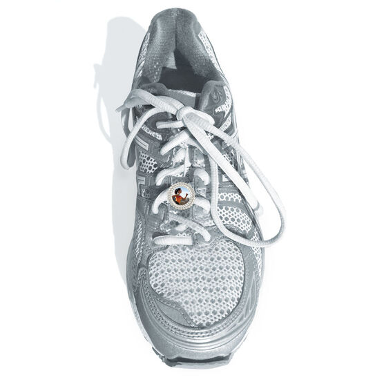 Shoe Lace Charm Your Photo