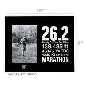 Running Photo Frame - 26.2 Math Miles