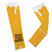 Printed Arm Sleeves Will Run For Beer