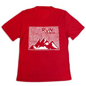 Women's Short Sleeve Tech Tee - Colorado State Runner
