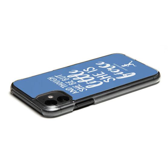 Running iPhone® Case - She is Fierce