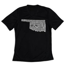 Women's Short Sleeve Tech Tee - Oklahoma State Runner