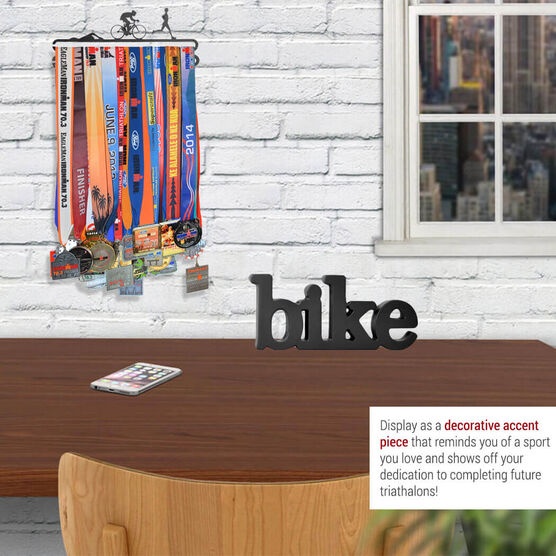 Bike Wood Words Ready To Autograph