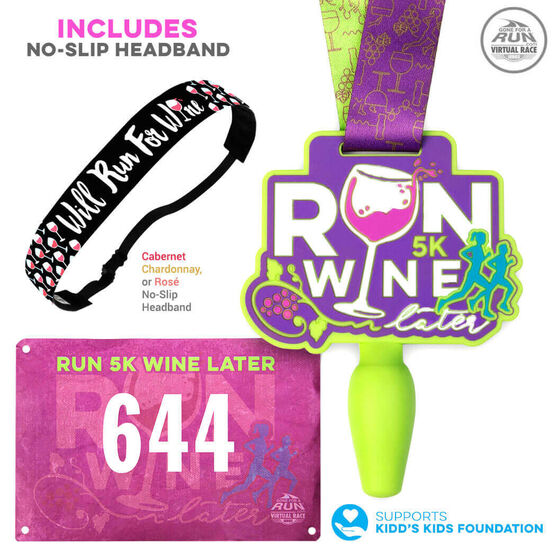 Virtual Race - Run 5k Wine Later (2019)
