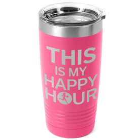 Running 20oz. Double Insulated Tumbler - This Is My Happy Hour