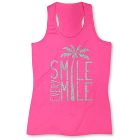 Women's Performance Tank Top Smile Every Mile