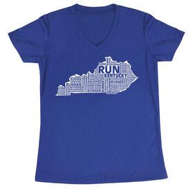 Women's Running Short Sleeve Tech Tee Kentucky State Runner