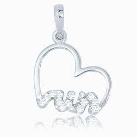 Livia Collection Sterling Silver Heartfelt Run Charm