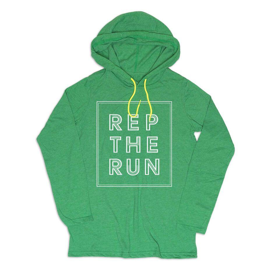 Women's Running Lightweight Hoodie - Rep The Run