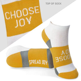 4beef7723 Socrates® Woven Performance Sock Choose Joy (Yellow)