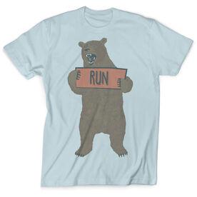 Vintage Running T-Shirt - Trail Bear