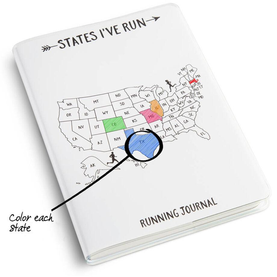 GoneForaRun Running Journal - States I've Run