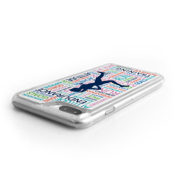 Running iPhone® Case - Inspirational Words Female