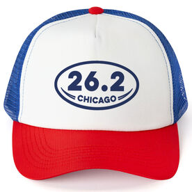 Running Trucker Hat 26.2 Chicago