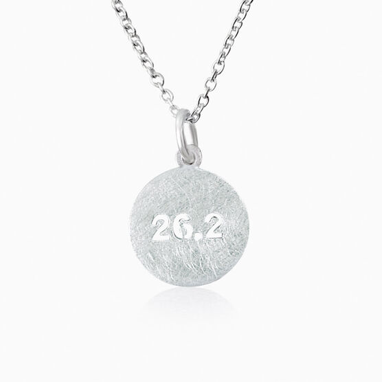 Livia Collection Sterling Silver Matte 26.2 Necklace