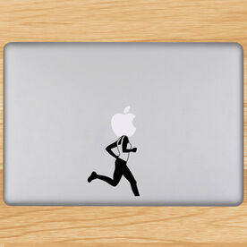 Runner Girl Removable GoneForaRunGraphix Laptop Decal