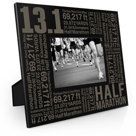 Running Engraved Picture Frame - 13.1 Math Miles