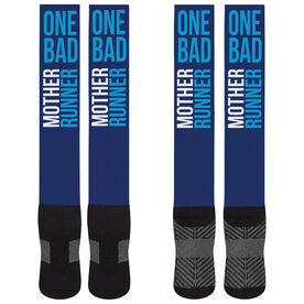 Running Printed Knee-High Socks - One Bad Mother Runner