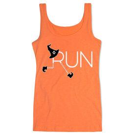 Running Women's Athletic Tank Top - Let's Run For Halloween