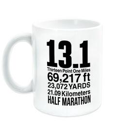 Running Coffee Mug - 13.1 Math Miles