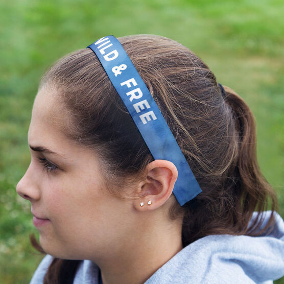 Running Julibands No-Slip Headbands - Personalized Watercolor