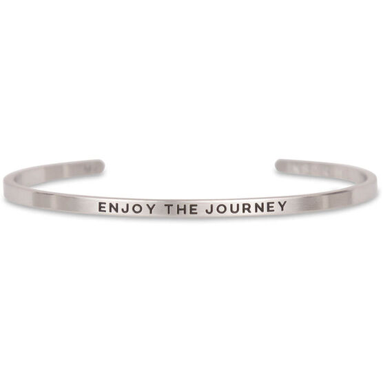 InspireME Cuff Bracelet - Enjoy the Journey