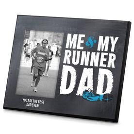 Running Photo Frame Me & My Runner Dad