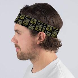 Running Multifunctional Headwear - I Run To Burn Off The Crazy RokBAND