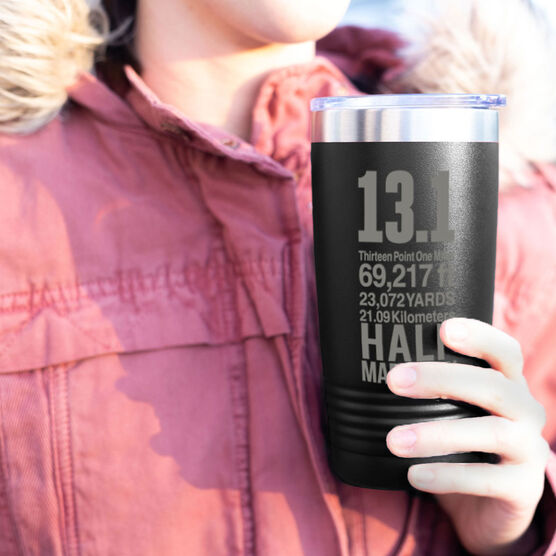 Running 20 oz. Double Insulated Tumbler - 13.1 Math Miles