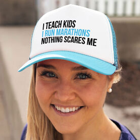 Running Trucker Hat - Nothing Scares Me