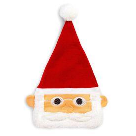 Happy Hatter Santa Beanie Hat & Mask