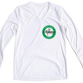 Women's Running Long Sleeve Tech Tee - Pacific Northwest Ladies Running Group Logo