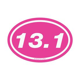 13.1 Pink Mini Car Magnet - Fun Size