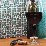 Wine Glass Runner's Measurements