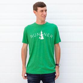 Running Short Sleeve T-Shirt - Runner Tree