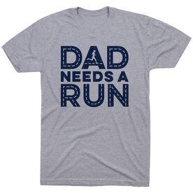 Running Short Sleeve T-Shirt - Dad Needs A Run