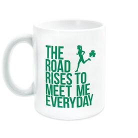 Running Coffee Mug - The Road Rises