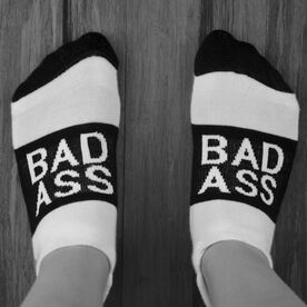 Socrates® Woven Performance Sock Bad Ass (Black)