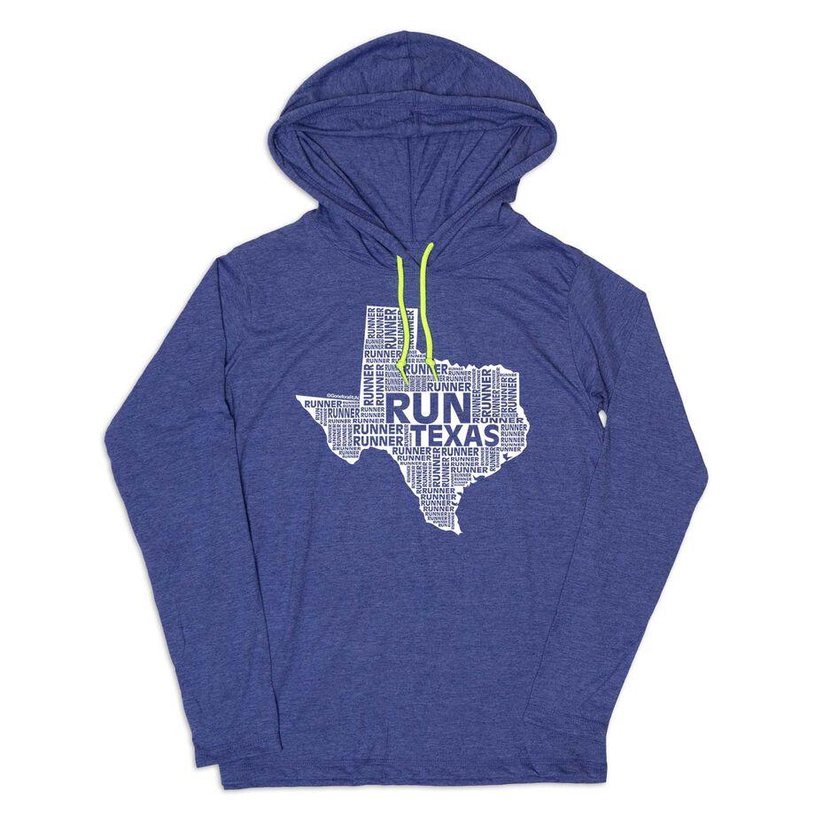 Men's Running Lightweight Hoodie - Texas State Runner