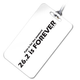 26.2 is Forever Personalized Sport Bag/Luggage Tag