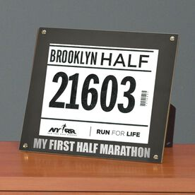 BibDISPLAY - Runners Race Bib Frame - My First Half Marathon