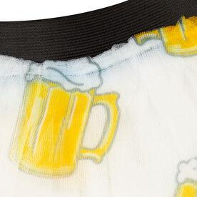 Runner's Printed Tutu Run For Beer
