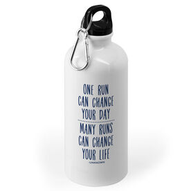Running 20 oz. Stainless Steel Water Bottle - Change Your Life
