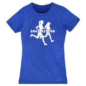 Women's Everyday Runners Tee - Sole Sister Silhouettes