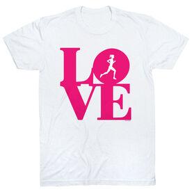 Running Short Sleeve T-Shirt - Runners Love
